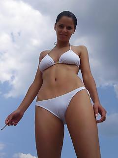 Nudist Brunette Pictures
